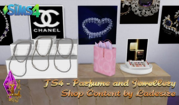 Ladesire Creative Corner: Parfume and Jewellery Shop Content