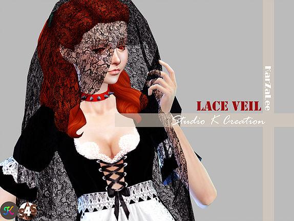 Studio K Creation: Dark Souls Lace veil