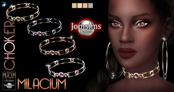 Jom Sims Creations: New Milacium choker