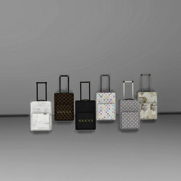 Leo 4 Sims: Steffor Suitcases
