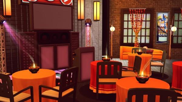 Jenba Sims: Llama Inferno   karaoke bar