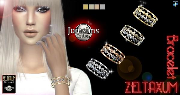 Jom Sims Creations: New Zeltaxum bracelet