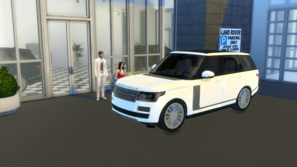 Lory Sims Land Rover Range Rover Vogue Sims 4 Downloads