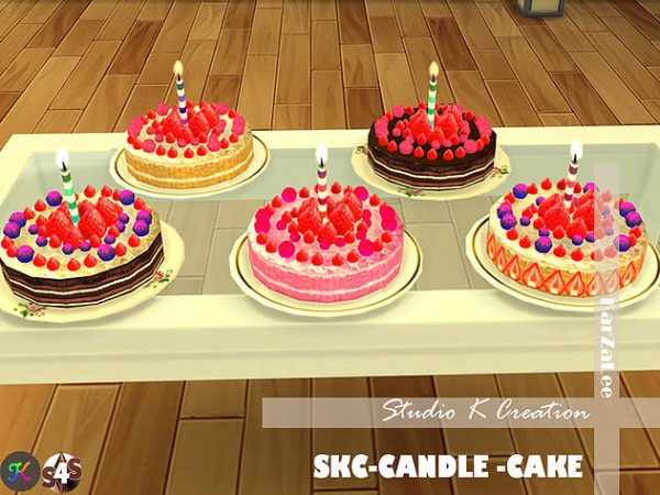 Studio K Creation Candle Cake Sims 4 Downloads