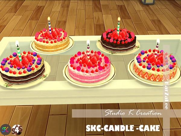 Studio K Creation: Candle cake