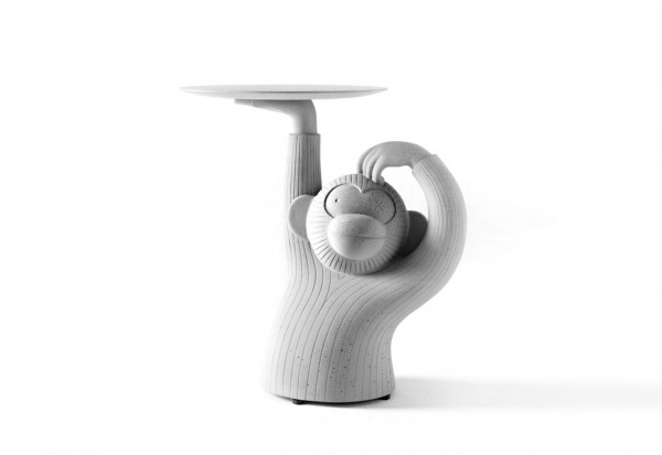 Meinkatz Creations: Monkey Side Table by BD Barcelona Design