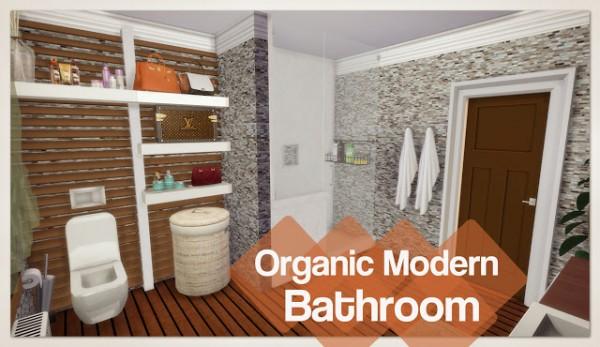 Dinha Gamer: Organic Modern Bathroom