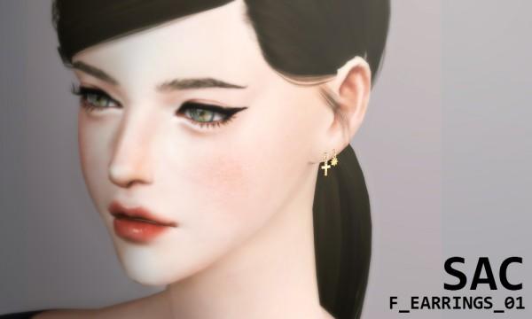 S SAC: Earrings 01F