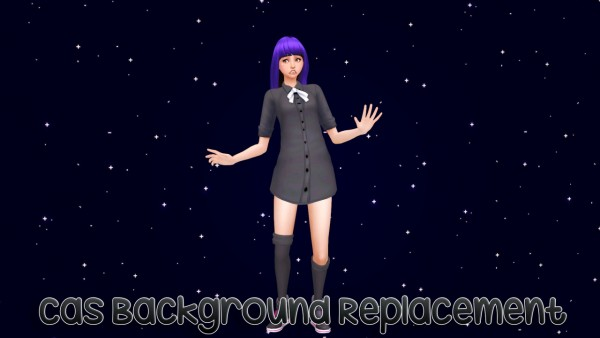 Sulsul Sims: Starry Sky CAS Background