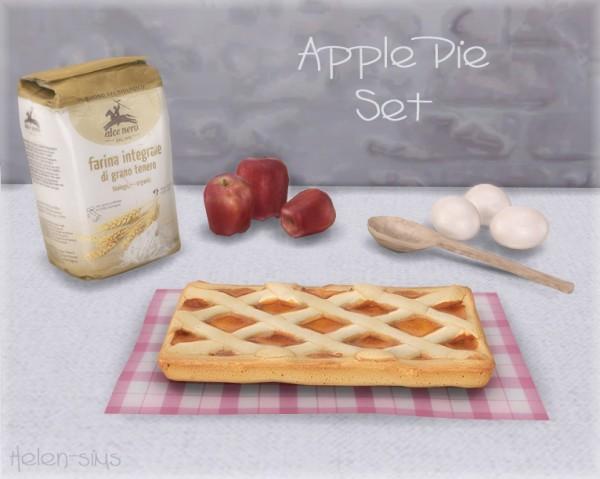 Helen Sims: Apple Pie Set