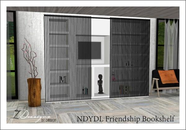 Sims 4 Designs Friendship Bookshelf