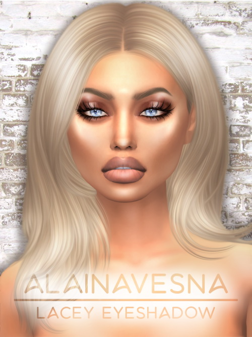 Alaina Vesna: Lacey eyeshadow