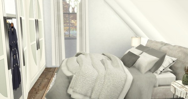 Caeley Sims Attic Bedroom Sims 4 Downloads