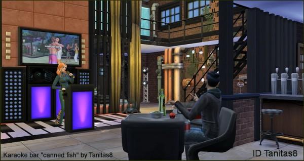 Tanitas Sims Karaoke Bar Canned Fish Quot No Cc Sims 4