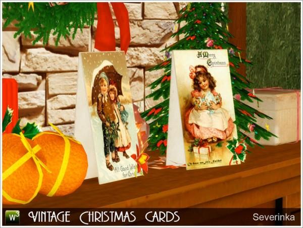Sims by Severinka: Vintage Christmas cards