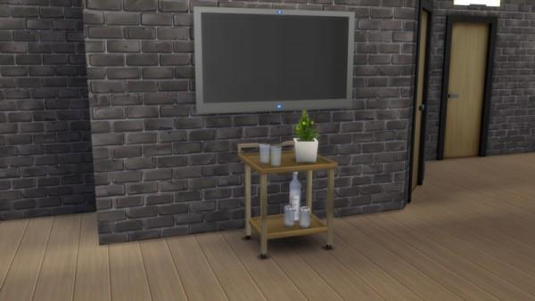 La Luna Rossa Sims: Portable Table