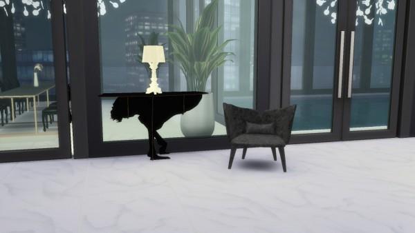 Meinkatz Creations: Lady B Armchair by Rochebobois