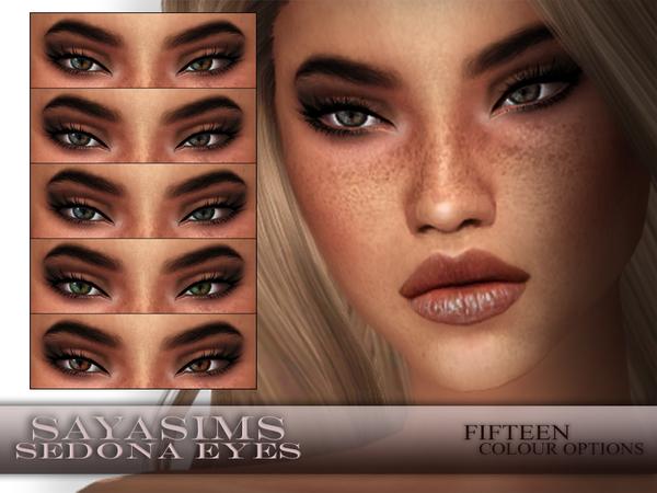 The Sims Resource: Sedona Eyes by SayaSims