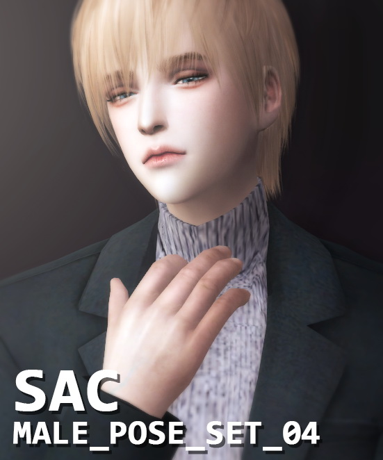 S SAC: Pose set 04