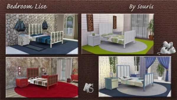 Khany Sims: Lise bedroom