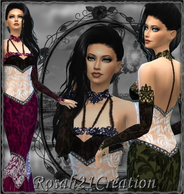 Sims Dentelle: Dreamer dress