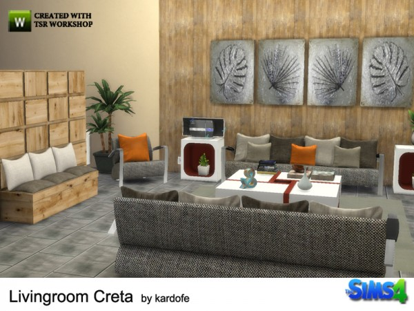 The Sims Resource: Livingroom by Kardofe