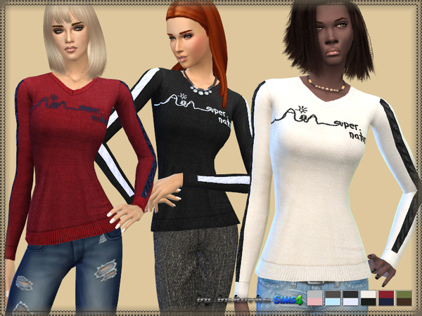 The Sims Resource: Top Super Naturale by bukovka