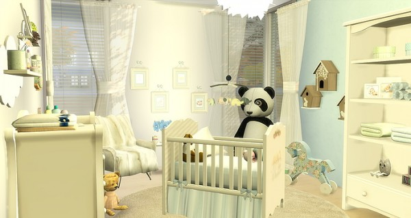 Caeley Sims: BabyBoy Room • Sims 4 Downloads