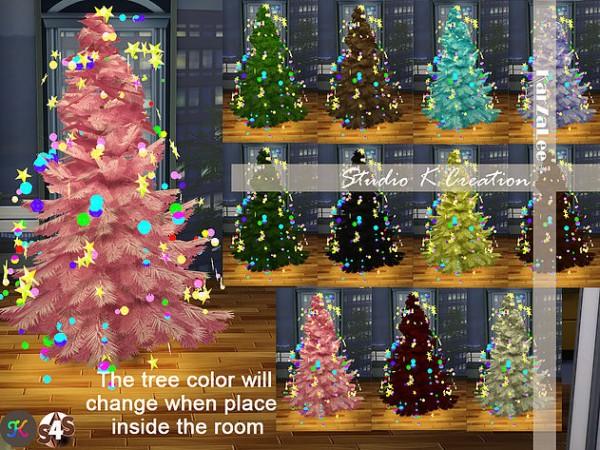 Studio K Creation: Christmas tree with decor light set