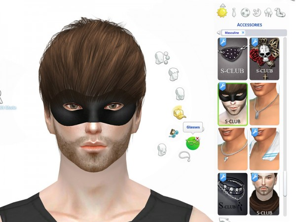 The Sims Resource: Mask N2 by S Club