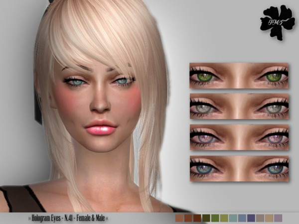 The Sims Resource: Hologram Eyes N.41 by IzzieMcFire