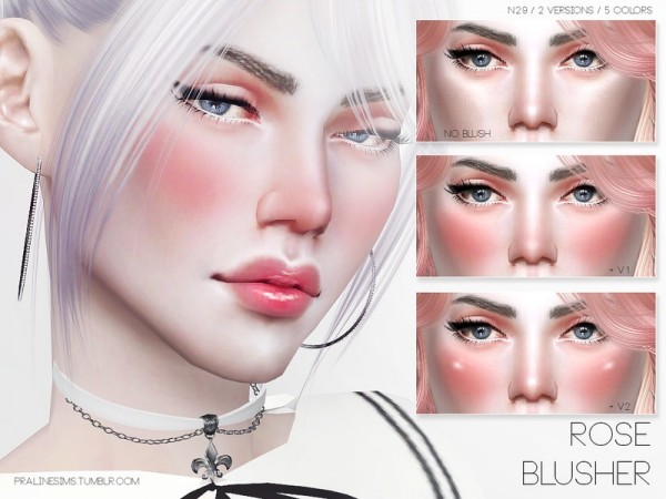 The Sims Resource: Rose Blusher N29 by Pralinesims