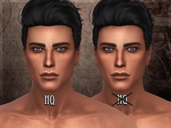 The Sims Resource: R skin 4   male   Overlay
