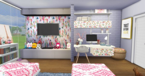 ... Mony Sims: Two Girls Bedroom ...