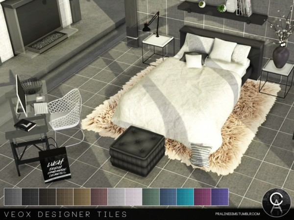 The Sims Resource: VEOX Designer Tiles by Pralinesims
