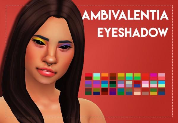 Simsworkshop: Ambivalentia Eyeshadow by Weepingsimmer
