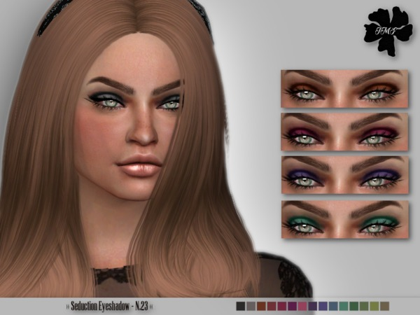 The Sims Resource: Seduction Eyeshadow N.23 by IzzieMcFire