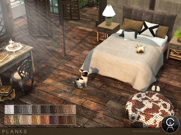 The Sims Resource: Planks by Pralinesims