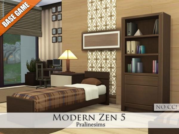 The Sims Resource: Modern Zen 5 by Pralinesims