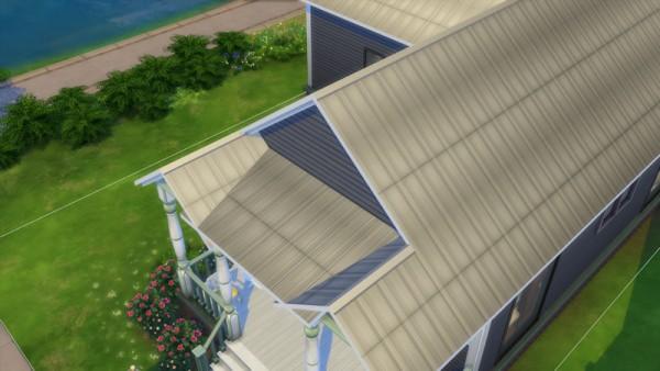 La Luna Rossa Sims: Metal Slates Roof