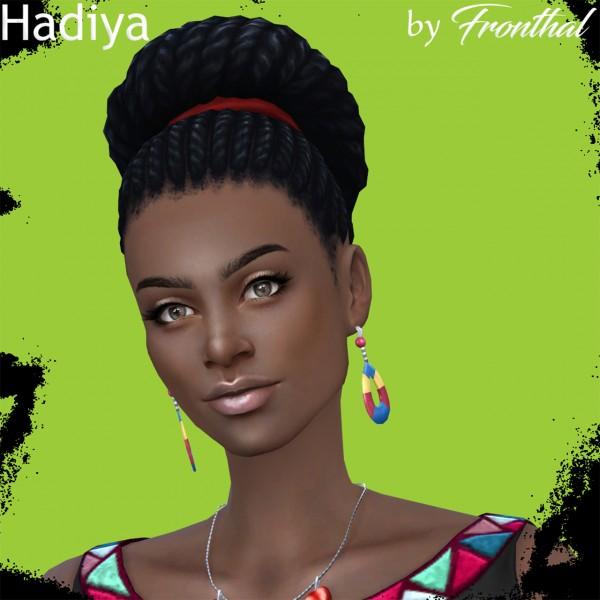 Fronthal: Hadiya sims model