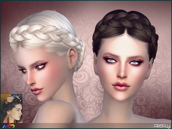 The Sims Resource: Anto  Firefly hairstyle