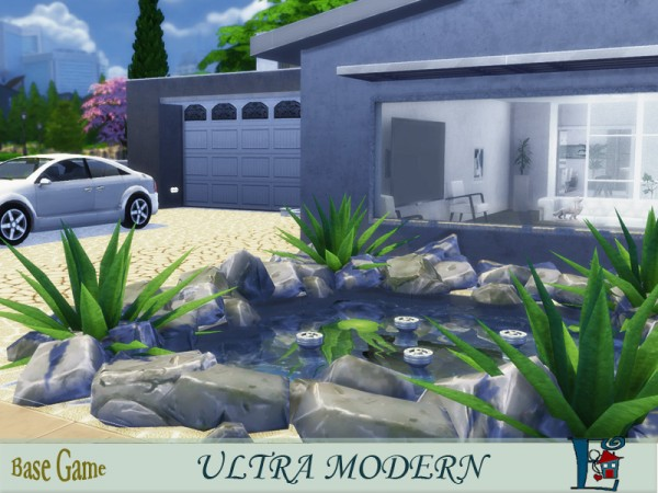 The Sims Resource: Ultra modern house by evi