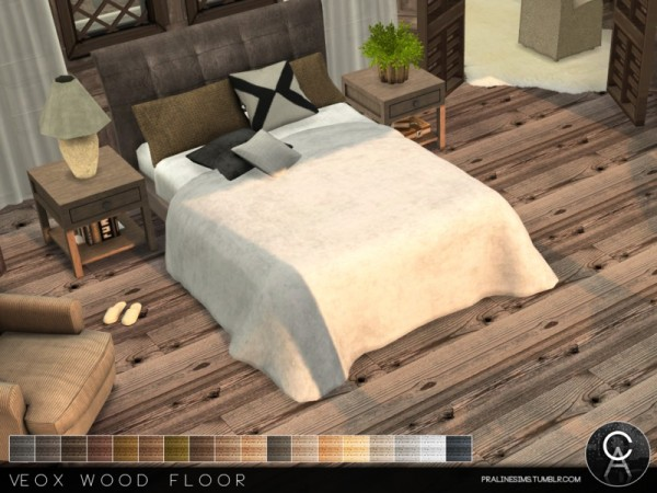 The Sims Resource: VEOX Wood Floor by Pralinesims