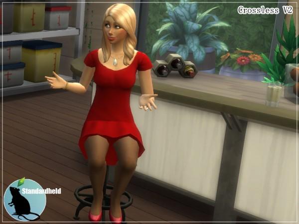 Simsworkshop: Crossless dress V2 by Standardheld