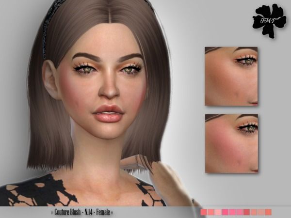 The Sims Resource: Couture Blush N.14 by IzzieMcFire