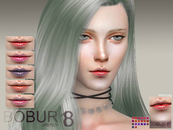 The Sims Resource: Bobur Lipstick 18