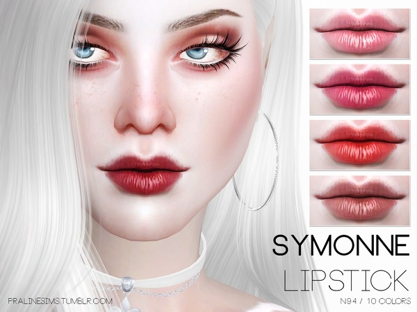 The Sims Resource: Symonne Lipstick by Pralinesims