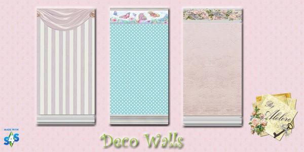 Alelore Sims 4: Deco Walls