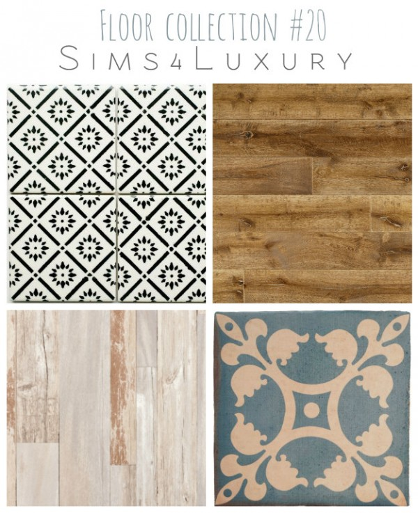 Sims4Luxury: Floor collection 20